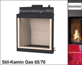 Gas-Kamin Stil-Kamin Gas 65x70