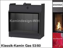 Gas-Kamin Klassik-Kamin Gas 53x80