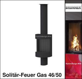 Gas-Kamin Solitär-Feuer Gas 46/50