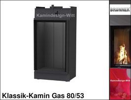 Gas-Kamin Klassik-Kamin Gas 80x53