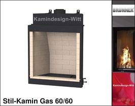 Gas-Kamin Stil-Kamin Gas 60x60