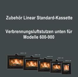 Verbrennungsluftstutzen unten Modell 600-900