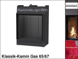 Gas-Kamin Klassik-Kamin Gas 65x67