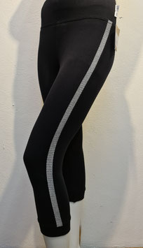 3/4 Leggins with side stripes for Women
