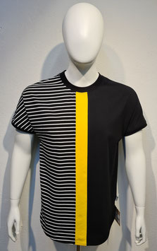 """""""Colors of Life"""" T-Shirt Yellow/Stripe for Men"""