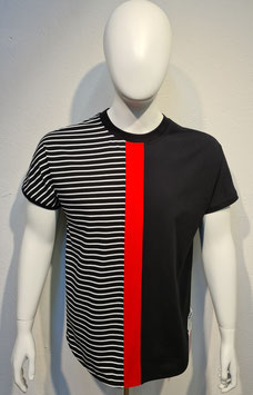 """""""Colors of Life"""" T-Shirt Red/Stripe for Men"""