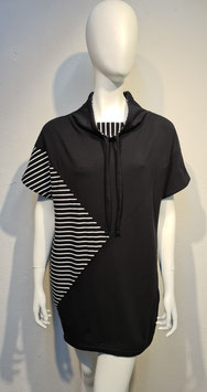 """Diagonal"" Dressshirt Stripe/Black for Women"
