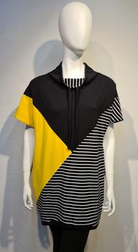"""Diagonal"" Dressshirt Yellow/Black for Women"