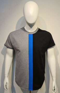"""""""Colors of Life"""" T-Shirt Blue/Grey for Men"""