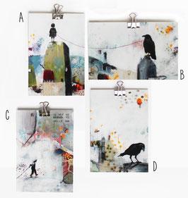 Postkarte kleine Kunst