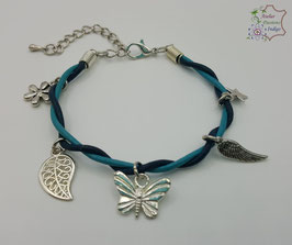 Taille adulte Bleu et Turquoise                                                        Réf BBALAADAR