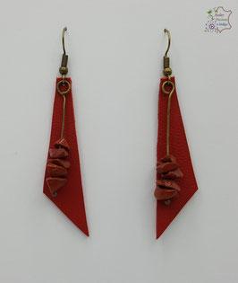 Rouge et Jaspe rouge                                                                                    Réf BOFUNA