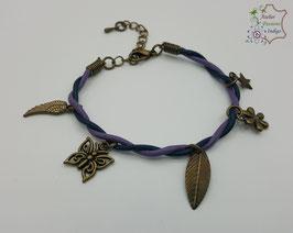 Bleu et violet                                                        Réf BBALAADBR