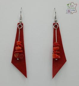 Rouge et Corail rouge                                                                                    Réf BOFUNA