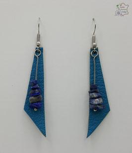 Turquoise et Lapis Lazuli                                                                                     Réf BOFUNA