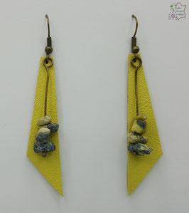 Jaune et Turquoise jaune                                                                                    Réf BOFUNA