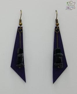 Violet et Onyx                                                                                    Réf BOFUNA