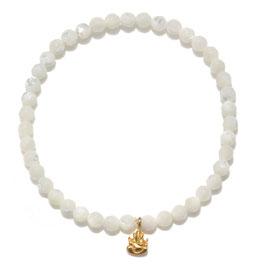 SATYA Stretcharmband Perlmutt - Ganesha