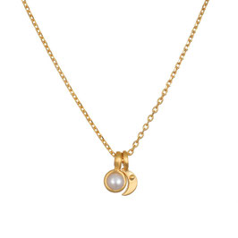 SATYA Halskette Perle - Mond