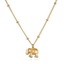 SATYA Halskette Gold - Elefant