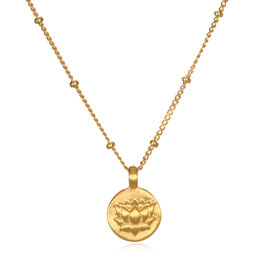 SATYA Halskette Gold - Lotus