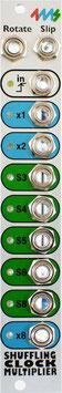 4MS - Shuffling Clock Multiplier