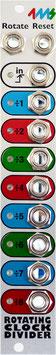 4MS - Rotating Clock Divider