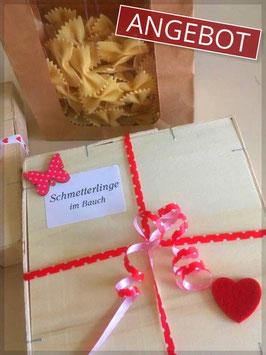 """""""Schmetterlinge im Bauch"""" - Valentinspasta"""