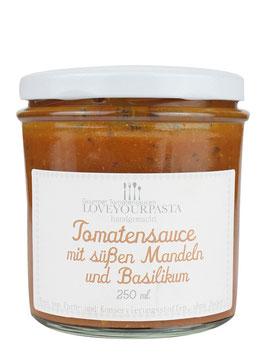 ZZ-OFF! Tomatensauce mit süßen Mandeln und Basilikum (250ml)