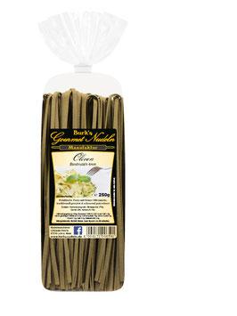 ZZ-OFF! Gourmet Oliven Bandnudeln lang, 4mm (250g)