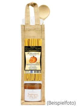 ZZ-OFF! Geschenktasche Tomate-Mandel-Basilikum Sauce & Gourmetpasta