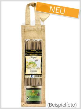 Geschenktasche Waldfrüchte Pesto & Gourmetpasta