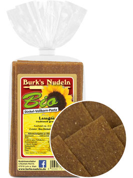 Bio Dinkel-Vollkorn Lasagne (500g)