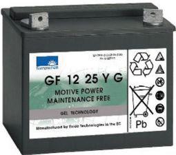 Sonnenschein Gel Batterie 12 V 25 A G-M6 197 x 132 x 180 mm (L x B x H)