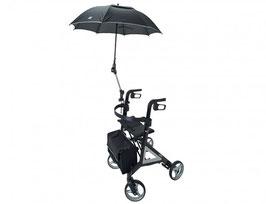 Sonnen-/Regenschirm für Alevo Bischoff & Bischoff Rollator Carbon und Alu