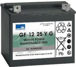 Sonnenschein Gel Batterie 12 V 63 A FM6 Pol 260 x 171 x 210 mm (L x B x H)