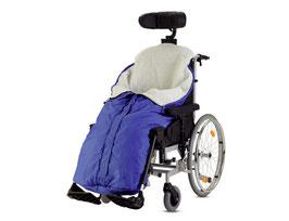 Schlupfsack bis zur Schultern für Rollstuhl von B+B
