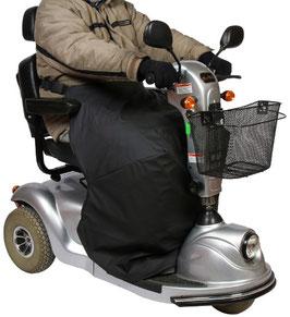 Thermoabdeckung für Scooterfahrer für Wetterschutz, Modell Medium