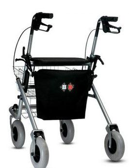 Rollstuhl Rollator Wasserdichte Tasche von B + B Einkaufstasche, Freizeittasche wasserabweisend