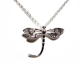 Halskette & Anhänger Libelle