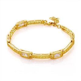 Armband Anguilla, Gold plattiert