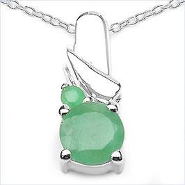 Halskette & Anhänger Bern, Smaragd