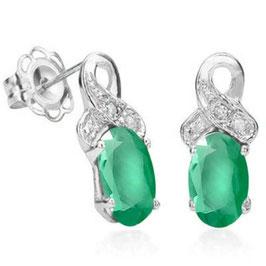 Ohrringe Jamie Smaragd