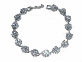 Armband Nevis, weiße Zirkonia