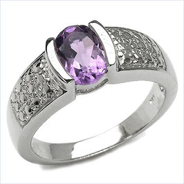 Damen Ring Salomé, Amethyst
