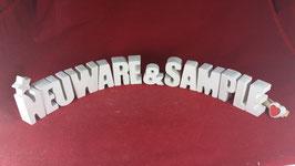 Beton, Steinguss Buchstaben 3D Deko Stern Schriftzug NEUWARE & SAMPLE als Geschenk verpackt!