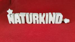 Beton, Steinguss Buchstaben 3D Deko Stern Namen NATURKIND als Geschenk verpackt!