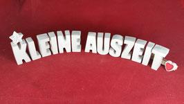 Beton, Steinguss Buchstaben 3D Deko Stern Namen KLEINE AUSZEIT als Geschenk verpackt!