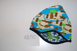 16 Helmmütze, Biber