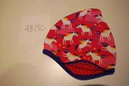 10 Helmmütze, Einhörner auf pink